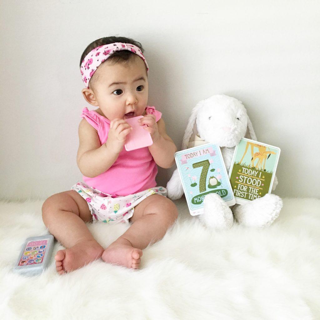 7-month-child