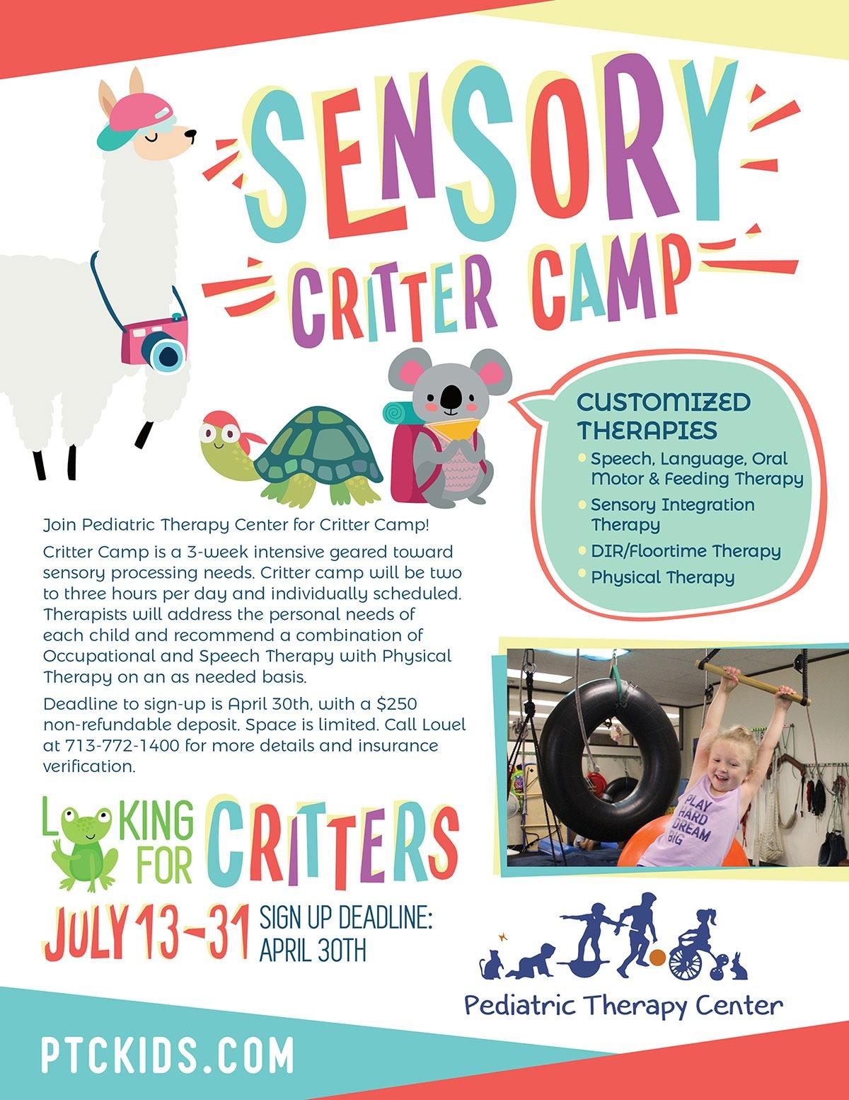 Sensory Critter Camp