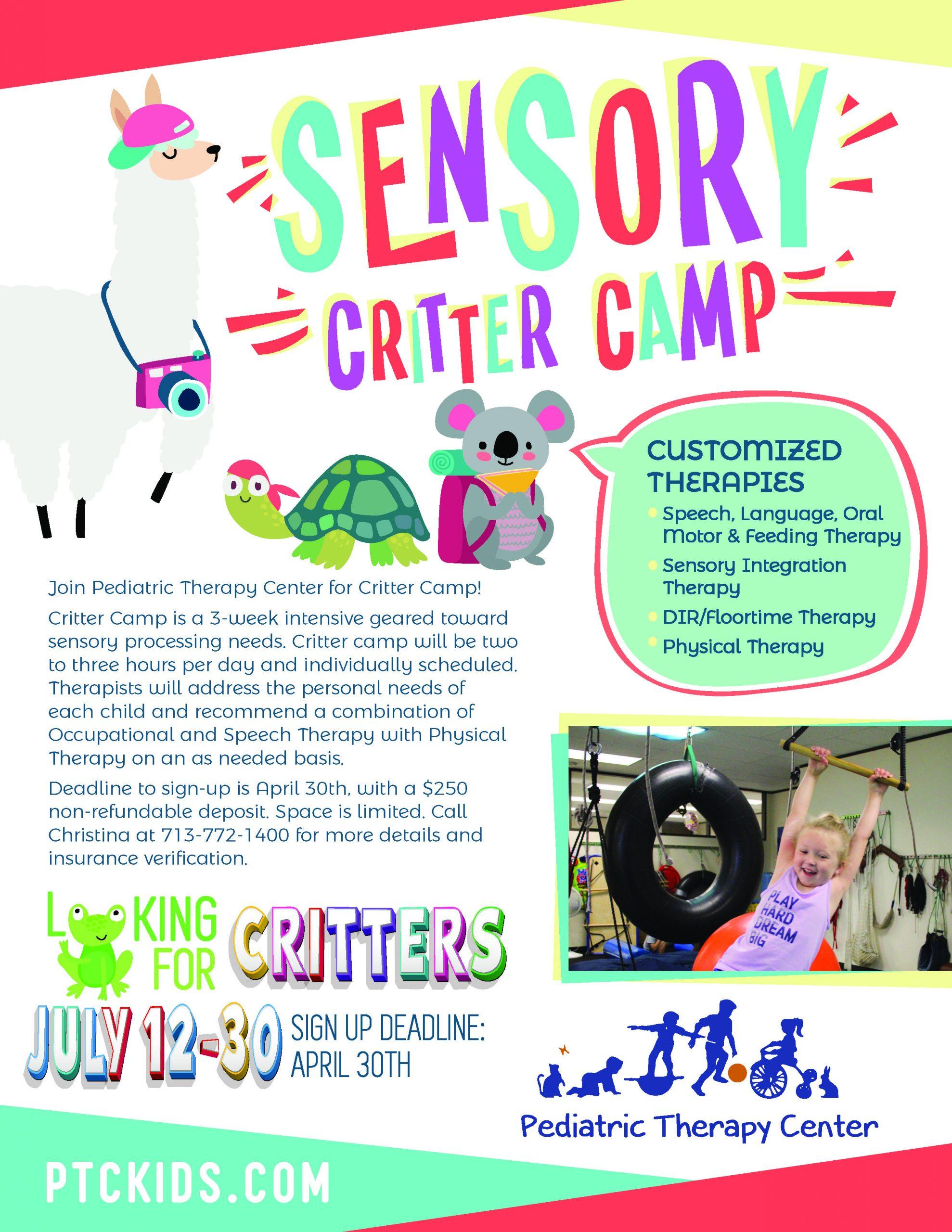 Sensory Processing Camp
